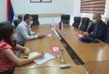 Photo of DOBOJ: Jerinić razgovarao sa Škrebićem (FOTO)