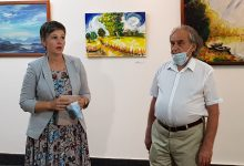 """Photo of DOBOJ: Otvorena izložba radova sa likovne kolonije """"Ozren-Kakmuž"""" (FOTO)"""