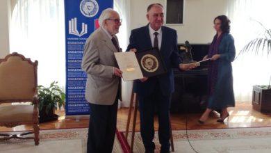 """Photo of Nagrada """"Skender Kulenović"""" uručena Dragoslavu Mihailoviću"""