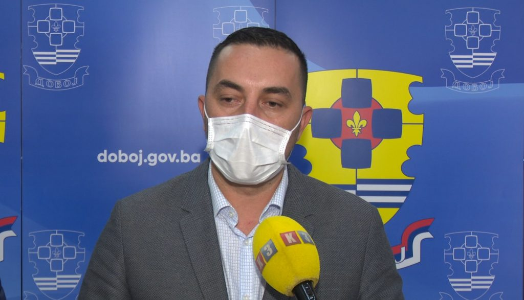 Boris jerinić, gradonačelnik Doboja