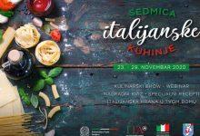 Photo of Sedmica italijanske kuhinje u BiH donosi zanimljive nagrade