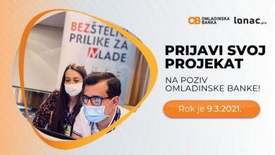 Photo of DOBOJ: Omladinska banka Doboj – I poziv za mlade 2021