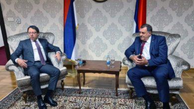 Photo of Dodik i Hašimoglu o ulaganjima Hoč Holdinga u Srpsku i BiH