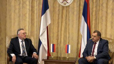 Photo of Dodik sa ambasadorom Rusije