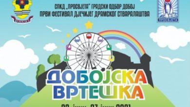 """Photo of DOBOJ: Od 23. do 27. juna Prvi festival dječijeg dramskog stvaralaštva """"Dobojska vrteška"""""""