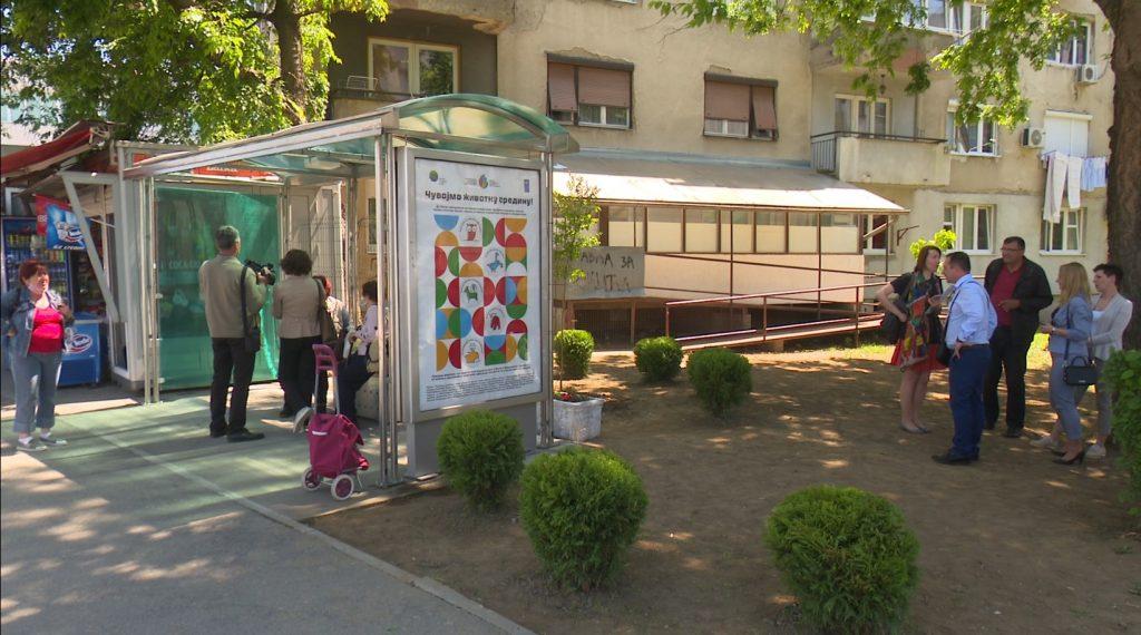doboj zeleno autobusko stajalište